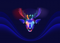 Fantasy Lights Reindeers