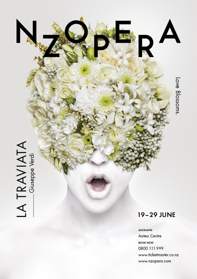 New Zealand Opera – La Traviata Poster