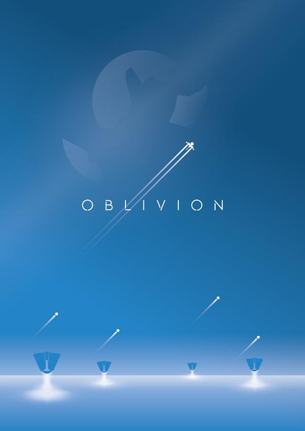 Oblivion Poster Design