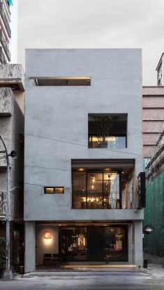 Q-Pot Hair Salon and Residence In Kaohsiung, Taiwan