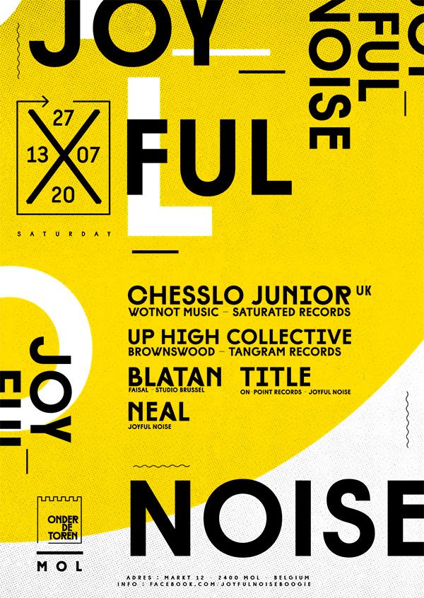 REFORM – Graphic design studies on form / balance & typography.