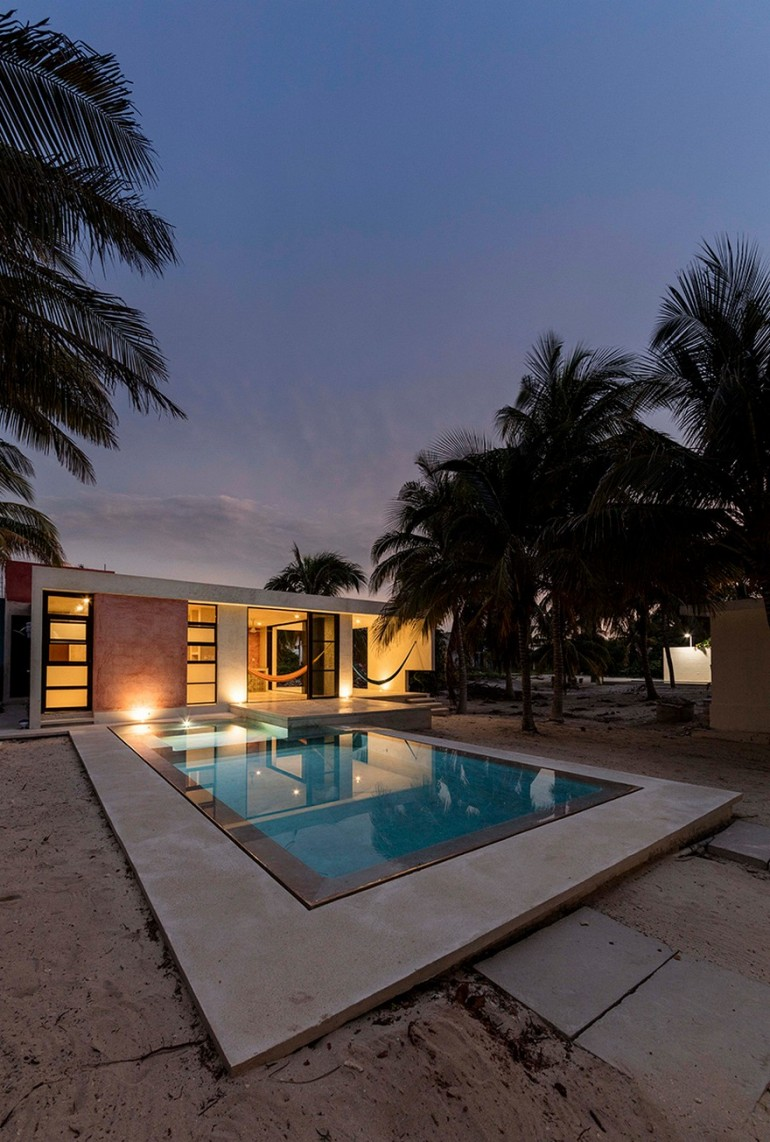 Tropical Retreat for a Family of Four in Yucatán, Mexico