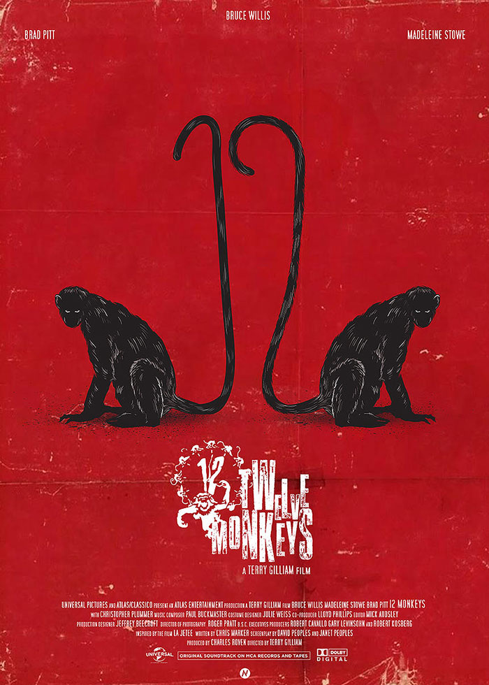 Twelve Monkeys by Mainger Germain