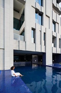 Wafra Vertical Housing in Salmiya, Kuwait by AGi Architects