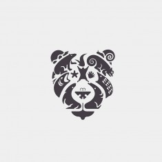 Bear and animals Logo design