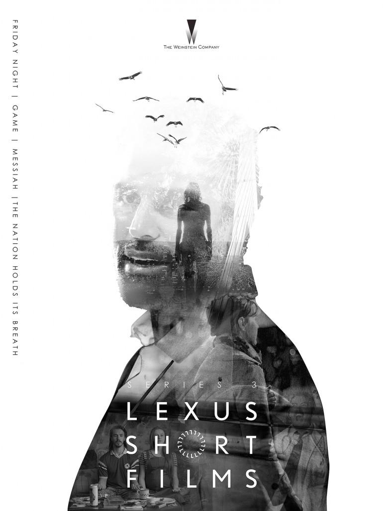 Design the official poster for Lexus Short Films