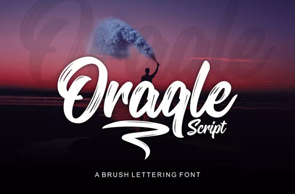 Oracle – Free Script font for designers