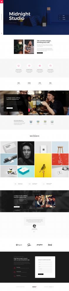 Pofo Creative WordPress Theme – Creative Studio