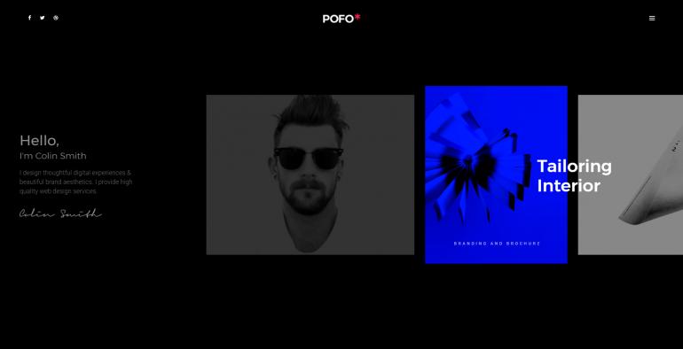 Pofo Creative WordPress Theme – Personal Portfolio