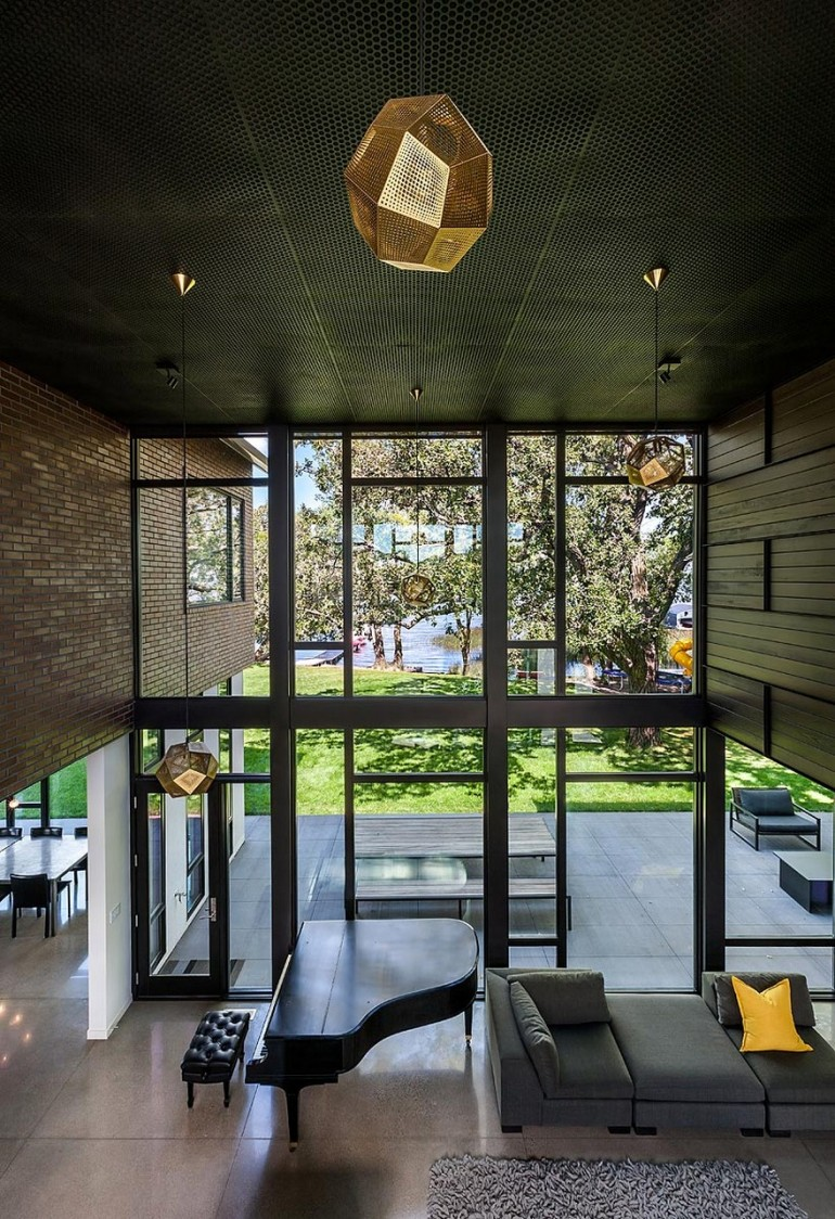 Industrial Modern House Designed to Promote the Outdoors and Active Lifestyle