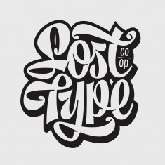 Lost Type Co-op lettering by Mika Melvas