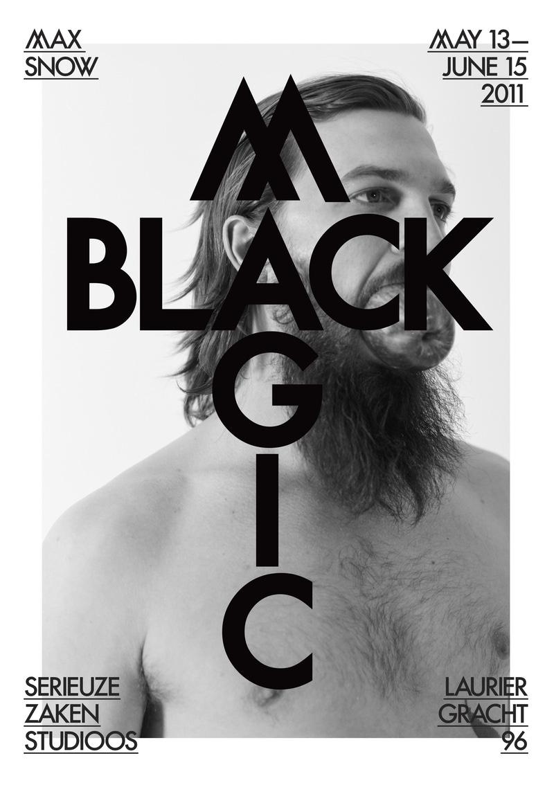 Max Snow Black Magic Poster, Betherlands