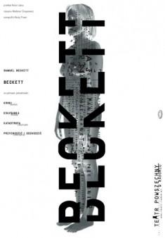 Samuel Beckett Poster by Lech Majewski