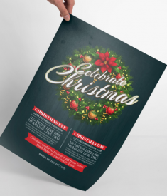 Beautiful template for Christmas Promotion