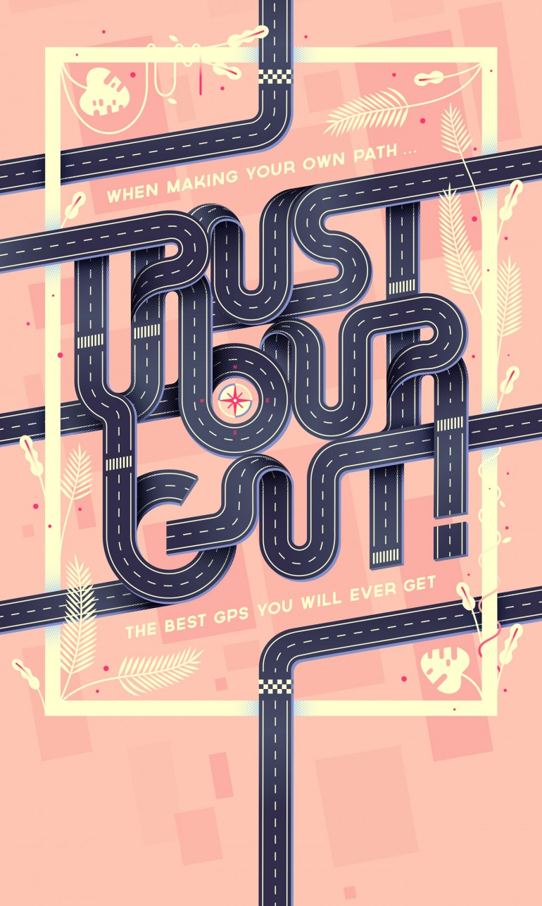 Trust your gut! · Poster