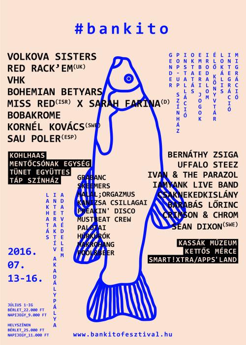 '16 Bunker, Cultural & Music Festival 'Poster
