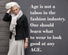 Age Fashion Quote