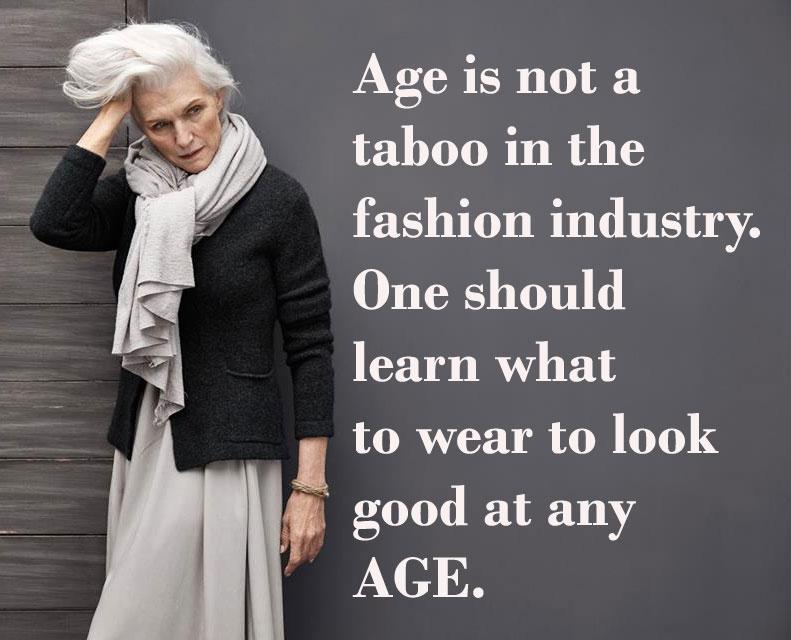 Age Fashion Quote