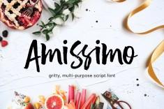 Amissimo Brush Font