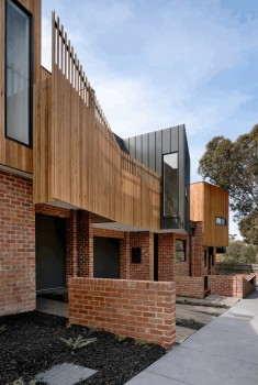 Alphington Townhouses by Green Sheep Collective
