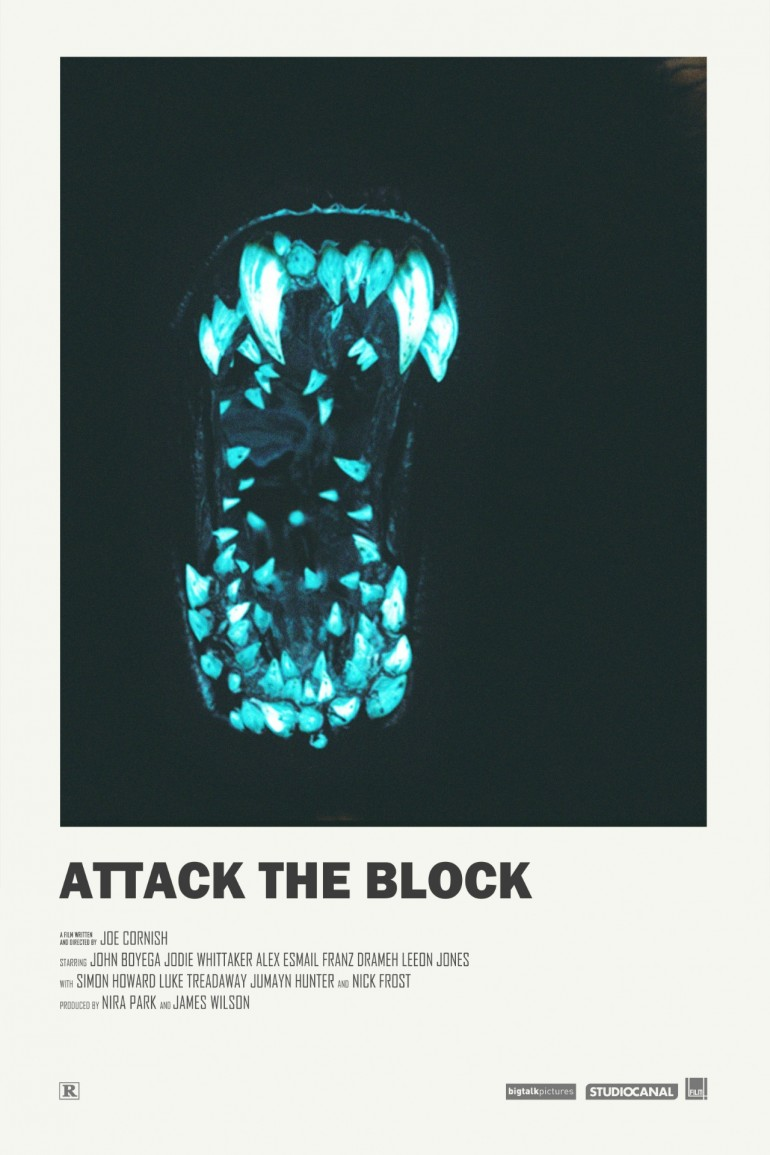 Attack the Block alternative movie poster