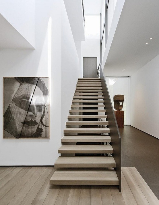 Staircase By Bureau D'Architecture MARC CORBIAU