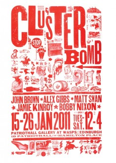 CLUSTERBOMB conquers Patriot Hall, Edinburgh