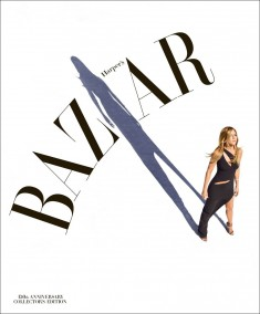 150th anniversary cover of Harper's Bazaar US edition