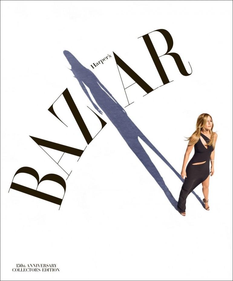 150th anniversary cover of Harper's Bazaar US edition
