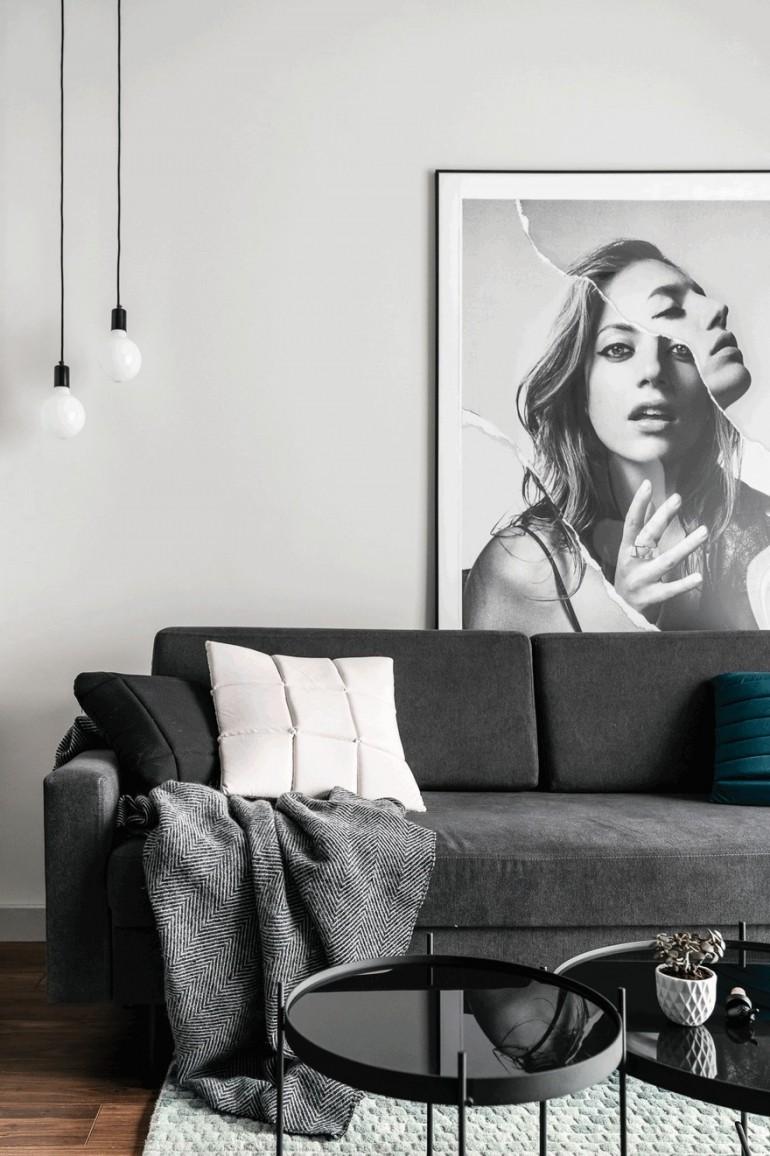 Creative Apartment in Poland Exhibiting Charming Design Details