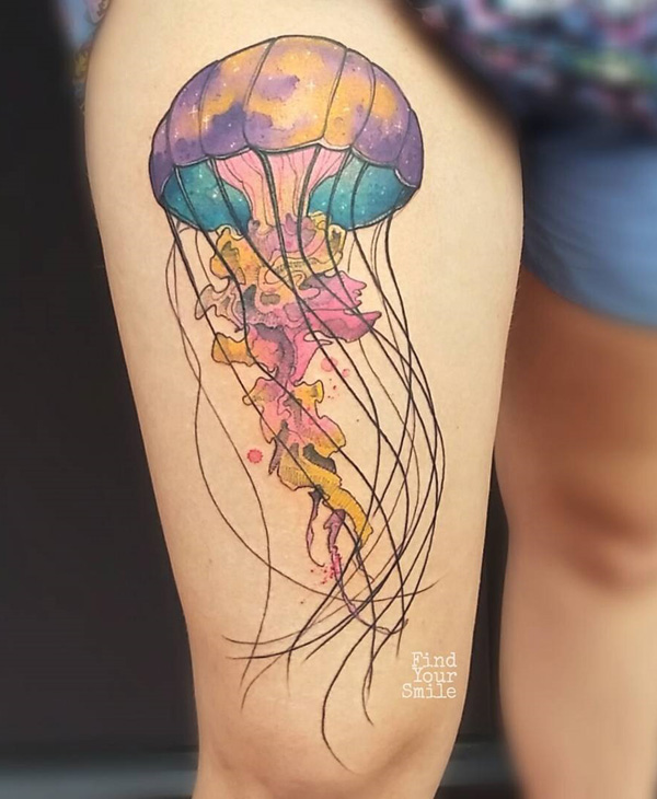 Jellyfish Tattoo Ideas On Inspirationde