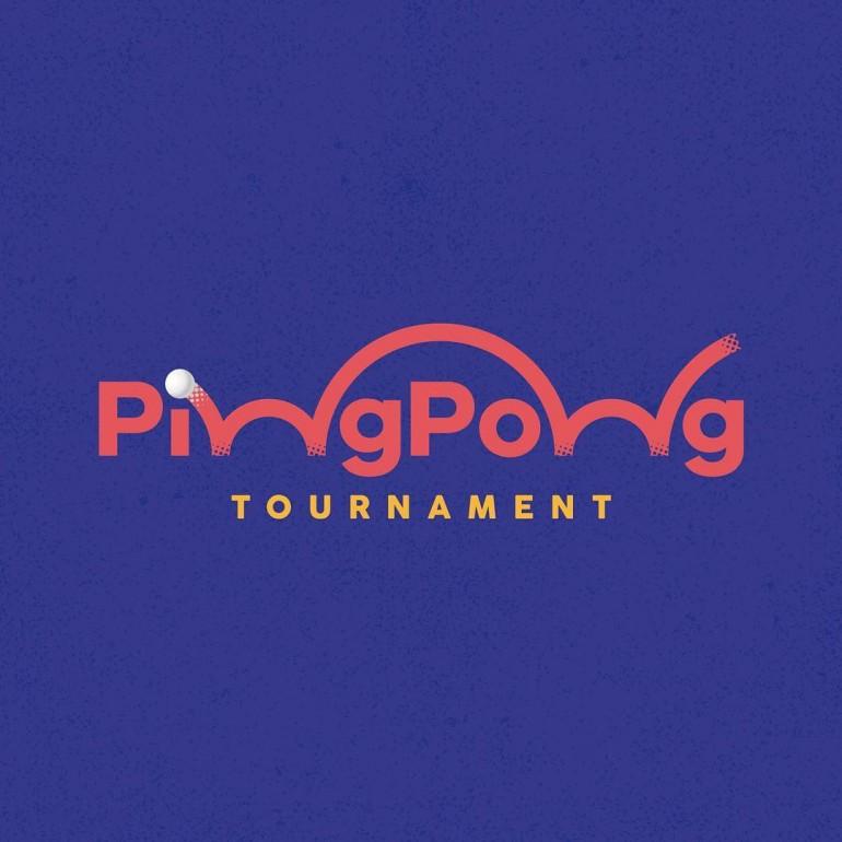 Ping Pong Tournament Logo João Augusto