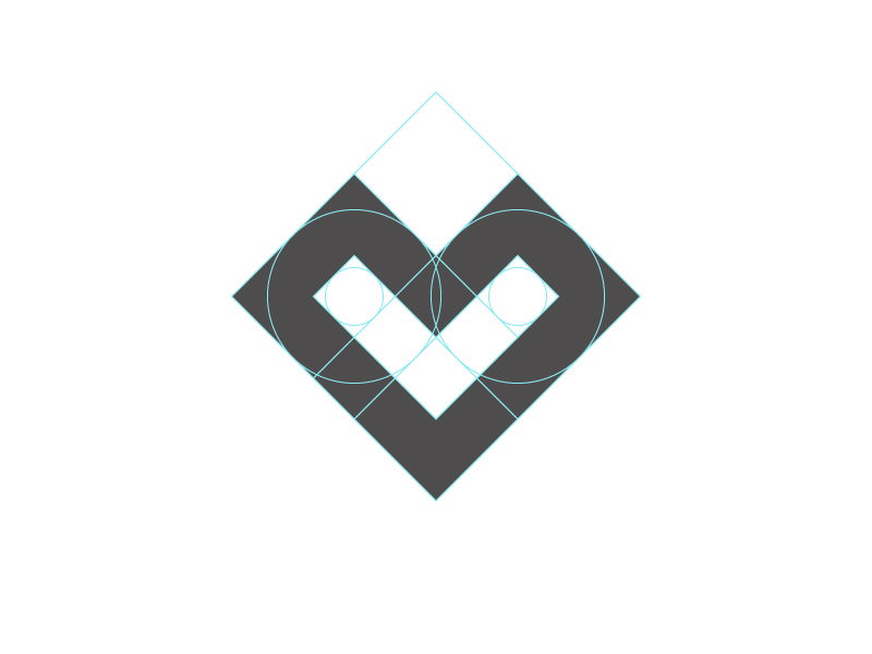 L + Heart Logo by Santiago Barrionuevo