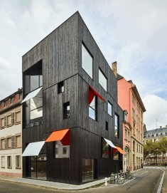 Mixed-Use Building in Strasbourg by Dominique Coulon & Associés