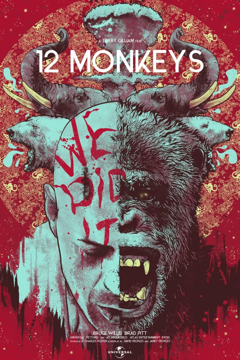 12 Monkeys by Nikita kaun
