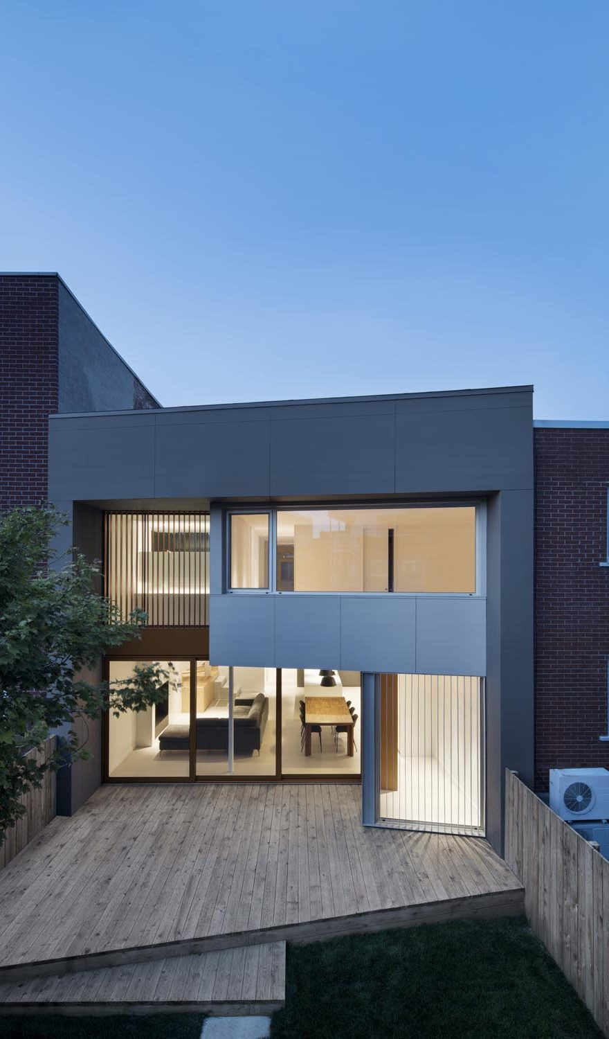 Montreal duplex house gets contemporary upgrade on for Modern house upgrades