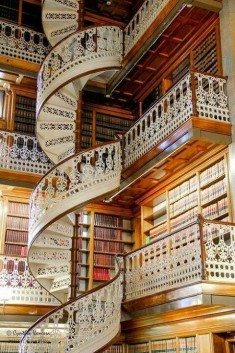 Library in Florence , Italy