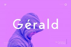 Gerald Sans – Pro Geometric Typeface