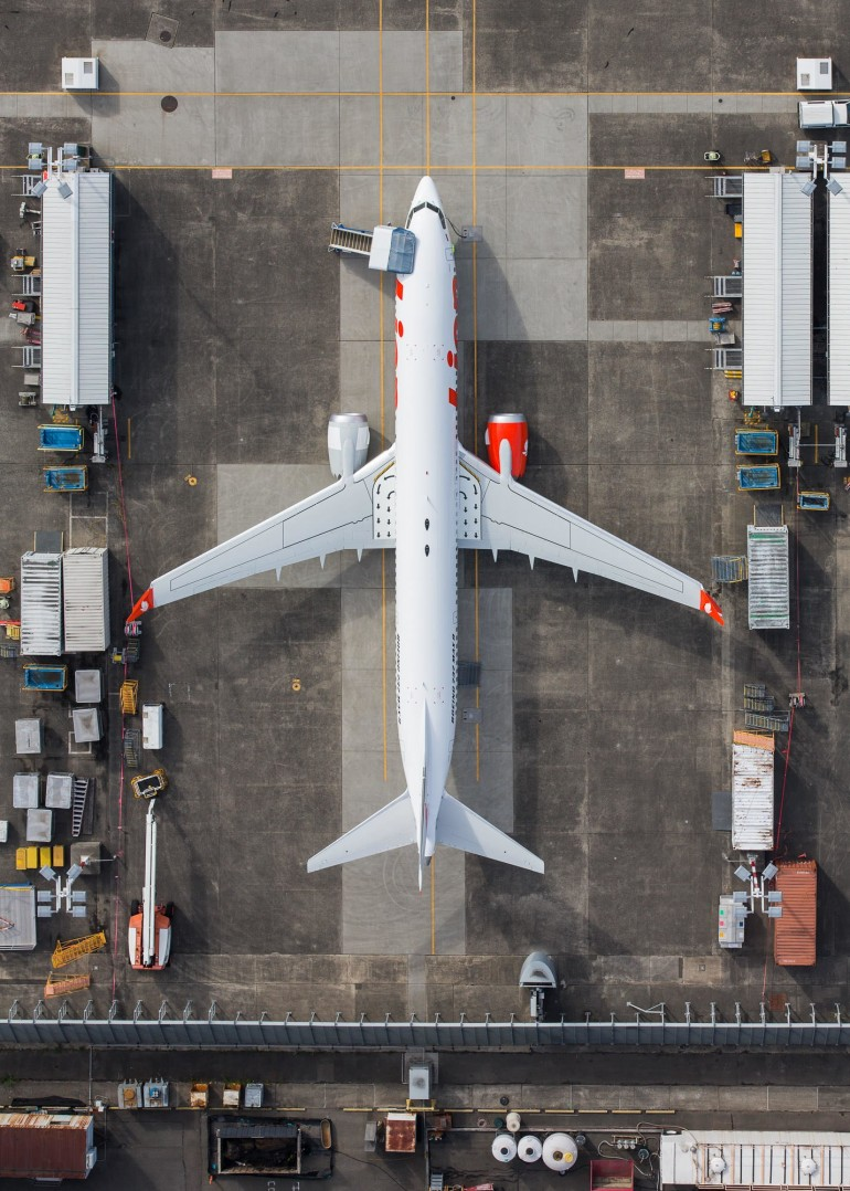 The Life Cycle of Planes, as Told in Stunning Aerial Photos