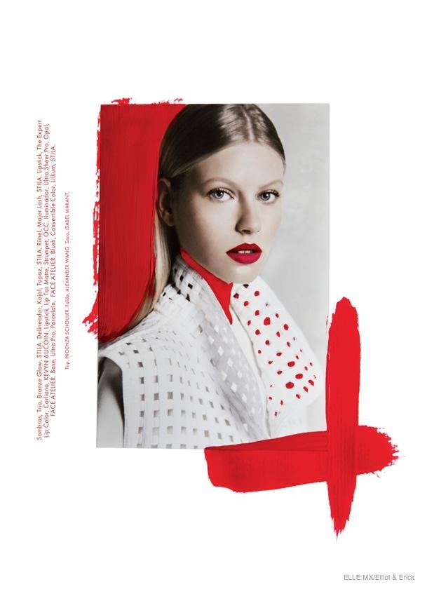 Artsy Fashion: Lisette + Natalie for Elle Mexico by Elliot & Erick