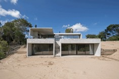 Concrete Summer House in Costa Esmeralda, Argentina