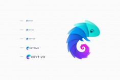 Crytivo Logo Design by Maria Grønlund