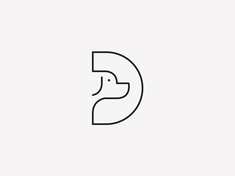D For Dog by Aditya | Logo Design