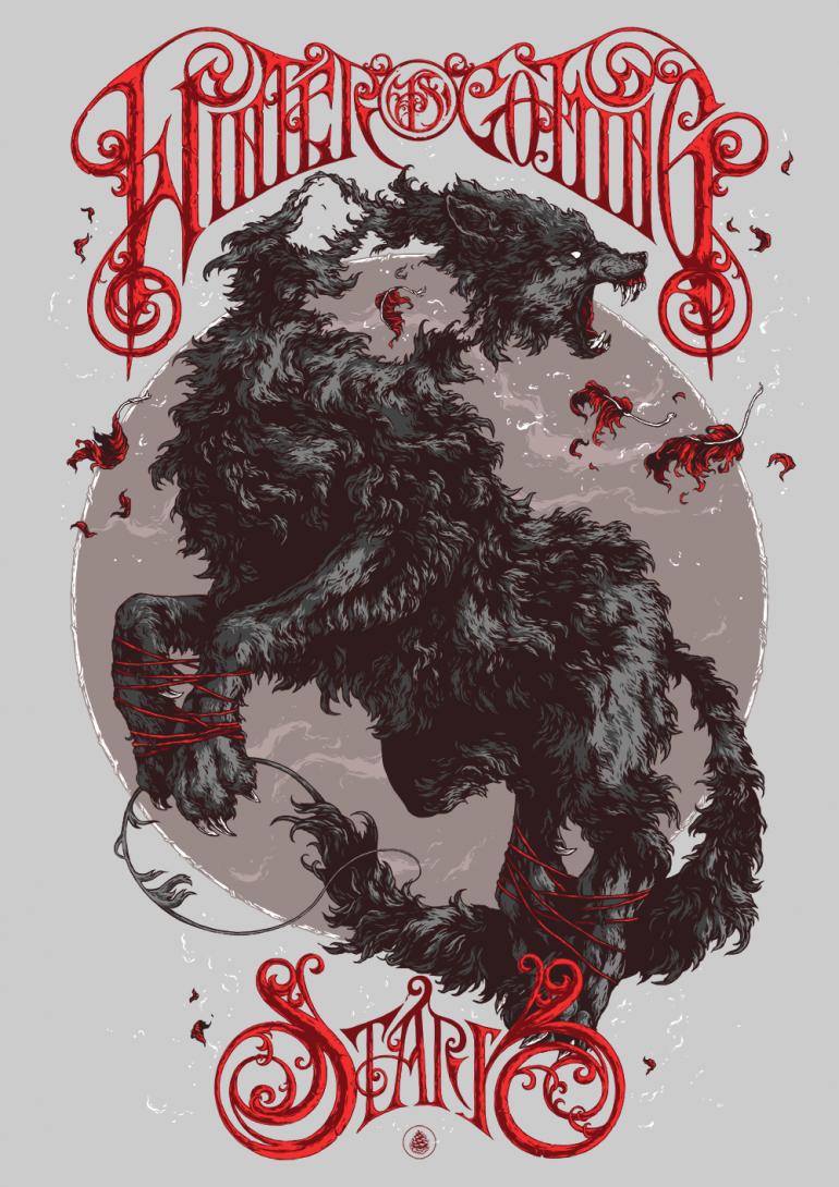Game of Thrones – Winter is coming by Ivan Belikov