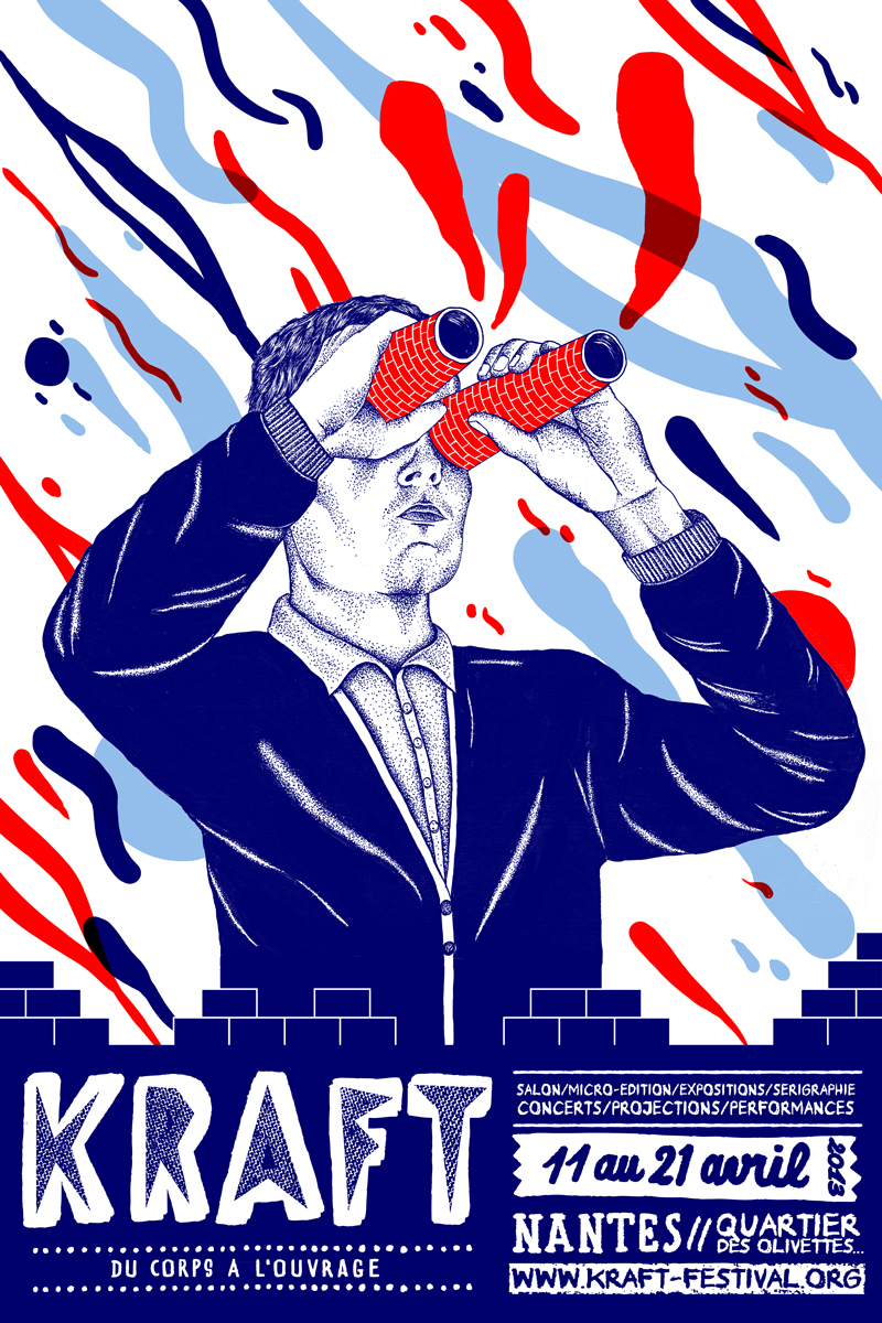 Communication Poster of the KRAFT Festival N ° 1