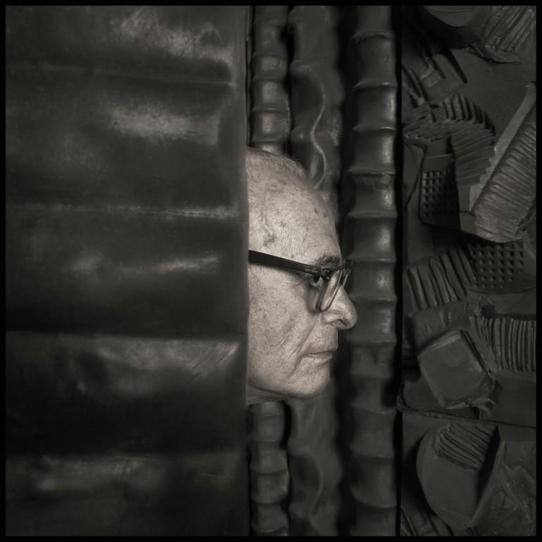 Riccardo Dalisi = fotografia Augusto De Luca.