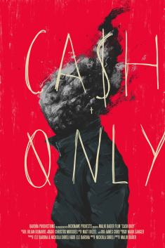 Cash Only Poster Design