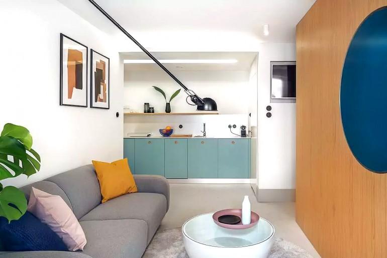 Small Studio Apartment by Interurban