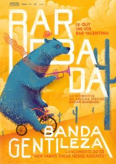 B A R B A D A. Banda Gentileza by Arthur Duarte