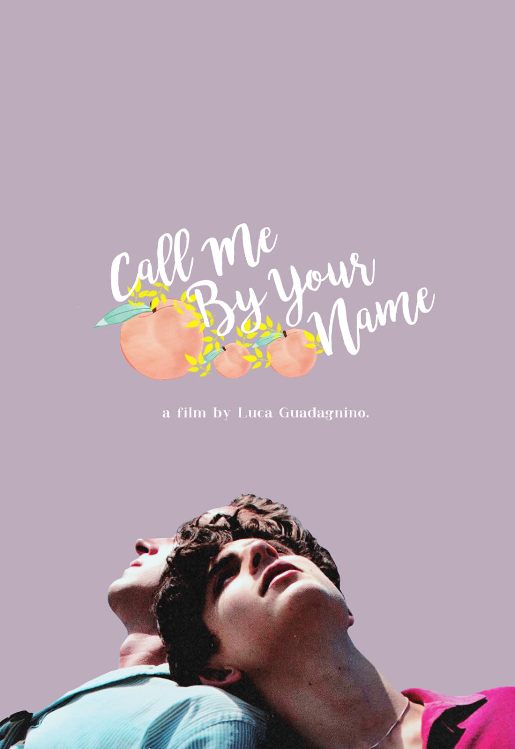 Call Me By Your Name Poster On Inspirationde
